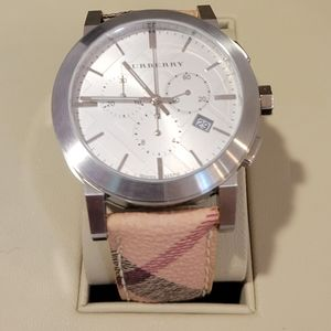NWOT Mens Burberry Watch with box